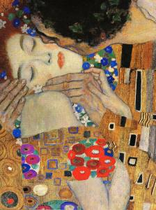 Gustav Klimt,The Kiss