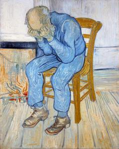 Old Man in Sorrow (On the Threshold of Eternity), 1890 by Vincent van Gogh