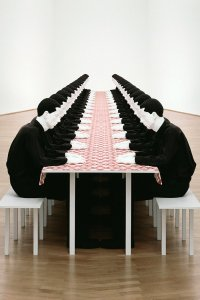 The Dinner Party by Katharina Fritsch, 1998